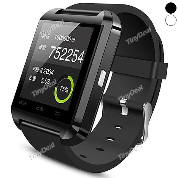 New U Watch U8 Bluetooth Smart Dial Bracelet Watch Phone Waterproof 3s Apple Samsung Andrews WWT-303446 http://www.tinydeal.com/new-u-watch-u8-px250pz-p-127195.html