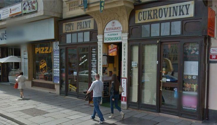 Plzeňská Formanka - restaurace Plzeň