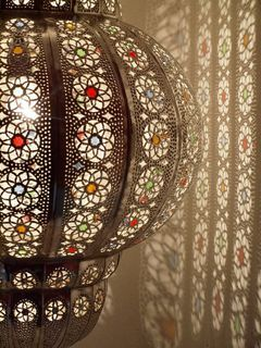 Andalusian Lantern: large silver