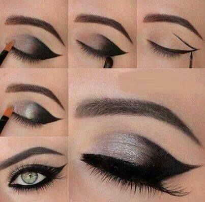 25+ best images about sombras on Pinterest | Green eye shadows ...