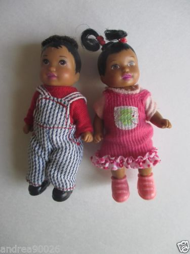 AA Mattel Barbie Happy Family Neighborhood Toddlers Nikki | eBay