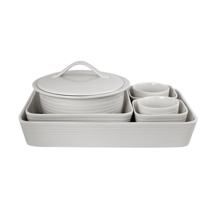 Gordon Ramsay Maze White 7 pc. Bakeware Set - 7282907