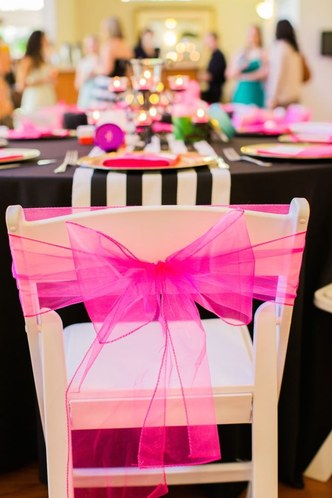 25 best ideas about Chair Bows – Tulle Chair Bows
