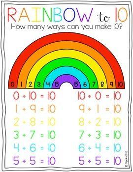 Rainbow to 10 {FREEBIE}