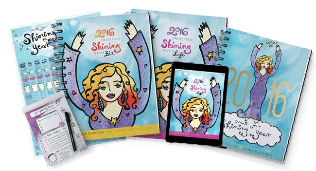 2016 Workbooks - Shining Biz & Life Academy The 2016 workbooks are finally available! I'm super excited to be an affiliate for Leonie Dawson. Her workbooks for creating your best life and business have helped me tremendously with my massage practice and life goals. All of your purchases help me get one step closer to winning the grand prize of a trip to Australia to meet Leonie in person! Check out all the cool new products: https://jlk86341.isrefer.com/go/2016wbeb/lmborton/