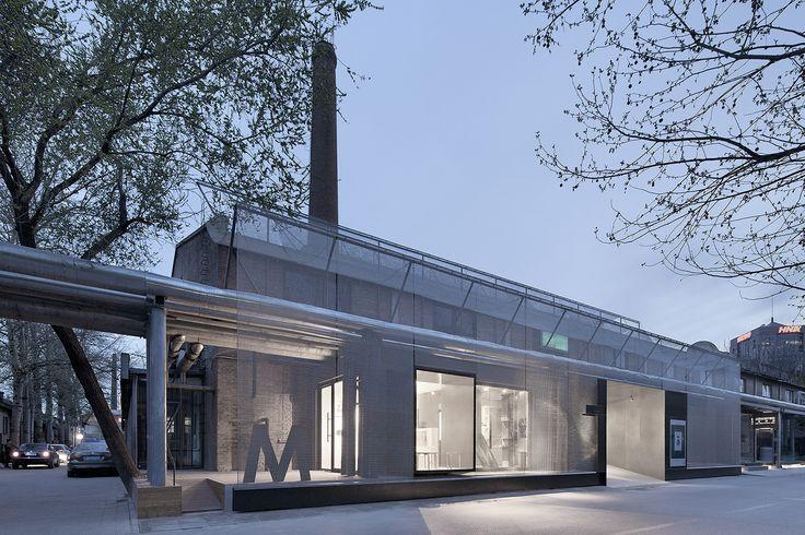 M Woods Entrance Revitalization / Vector Architects