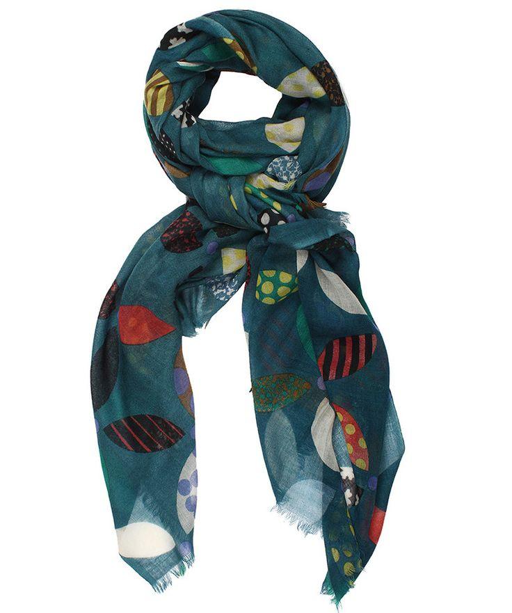 2-15COLOMBE BLEU - VDMD Foulards et accessoires de mode