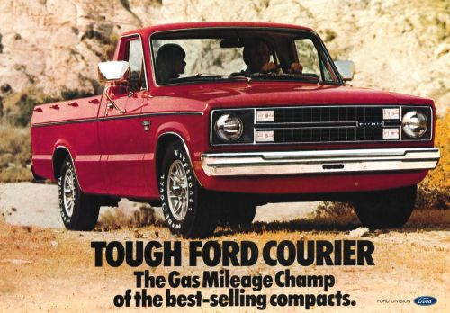 Detail from 1980 Advertisement for Ford Courier