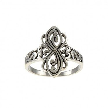 Elegant Sterling Silver Ring only at Steelza.com