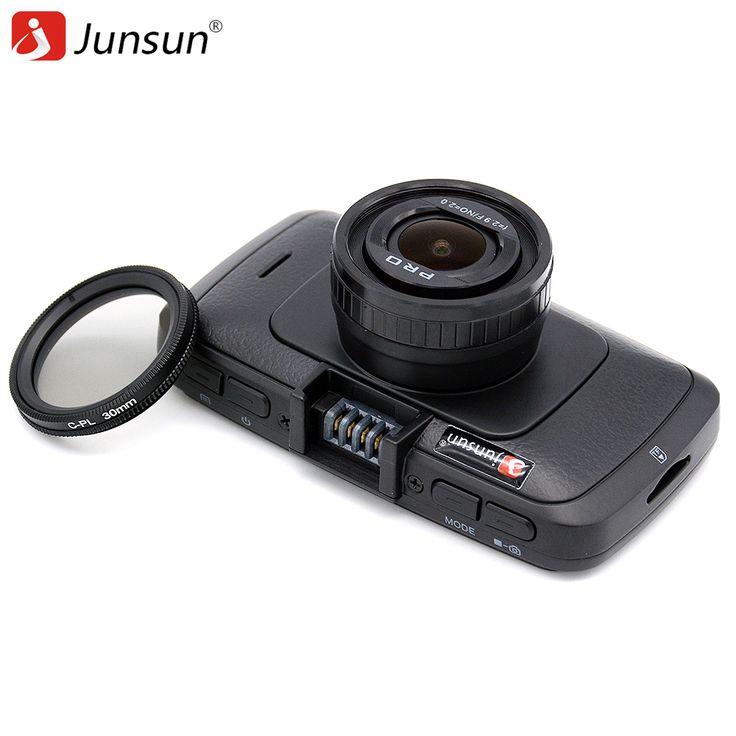 Junsun A790 Ambarella A7LA70 Voiture DVR Caméra GPS avec Speedcam 1296 P Full HD 1080 p 60Fps Vidéo Enregistreur Greffier Dash Cam