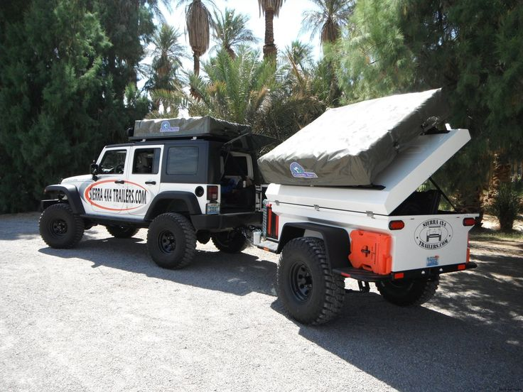 Sierra 4x4 trailer! Awesome camping gear! THIS is my brother's business! Check it out! JoLynn