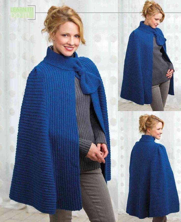 Azure Skies Cape; free crochet pattern #ClippedOnIssuu from Crochet magazine nov2013