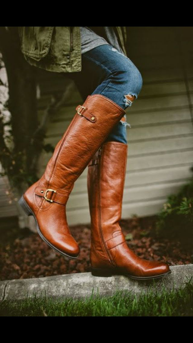 Stitch Fix shoes. Fall Fashion 2016 Naturalizer brown boots
