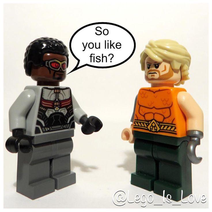 Arthur Curry I hear you can talk to fish    #Lego #LegoFalcon #LegoAquaman #LegoSamWilson #LegoArthurCurry #LegoFish #LegoCaptainAmericaCivilWar #LegoAvengers #LegoJusticeLeague #LegoMARVEL #LegoDC #MARVEL #DC #Falcon #Aquaman #SamWilson #ArthurCurry #Fish #CaptainAmericaCivilWar #Avengers #JusticeLeague #Finntoybox #Toyslagram_lego #Bricknetwork #Brickcentral #Vitruvianbrix #LegoIsLove #LegoIsLife #LegoIsLoveLegoIsLife