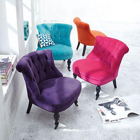 Farbenspiel: Sessel im Barockstil. #impressionen #living
