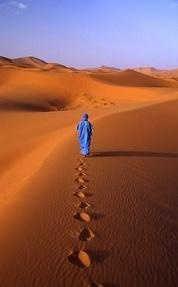 Walking on Sahara- Ellie we all have our own path to walk. Walk yours with grace and spirituality. <3