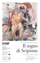 Cecily Brown's stunning artwork for our Scipione poster.