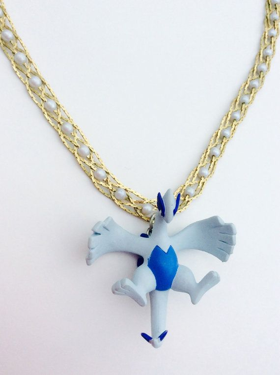 Awesome Lugia Pokemon Jewelry Necklace