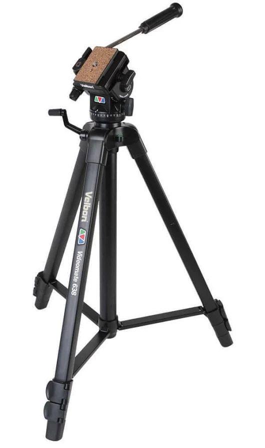 Velbon VIDEOMATE 638 Video Tripod with PH-358 2 Way Fluid Head WAS $178.80 Now $138.80  https://www.camerasdirect.com.au/velbon-videomate-638-video-trip... - Cameras Direct - Google+