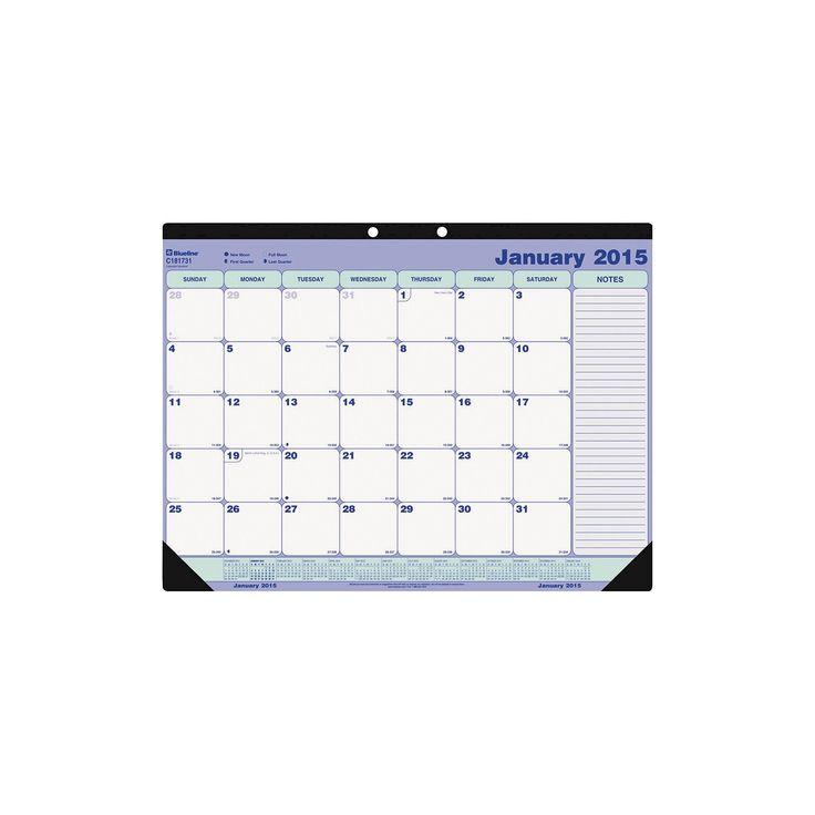 Blank Calendar Desk Pad : Best desk pad calendar ideas on pinterest