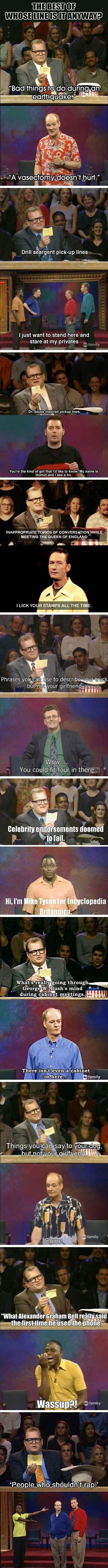 """The Best Of, """"Whose Line Is It Anyway?"""" – 20 Pics"""