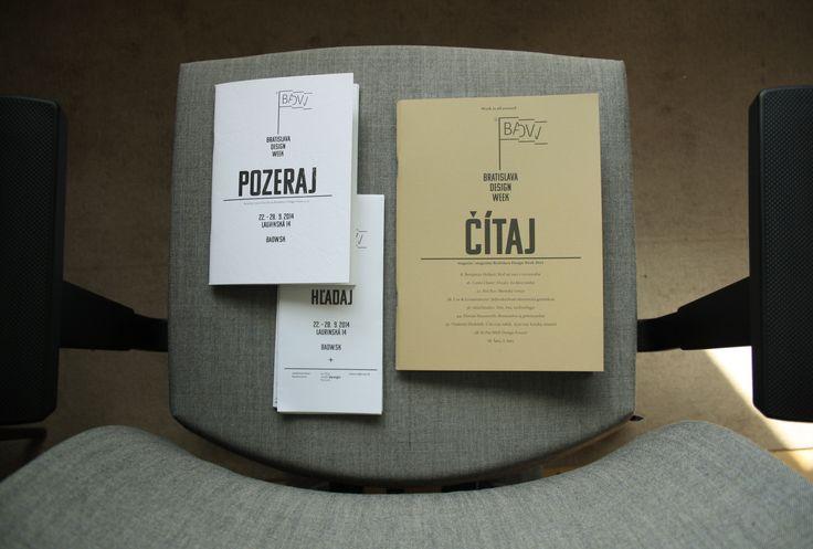 Komu typeface http://bit.ly/komu_type used by Peter Liška http://peterliska.sk/ in Bratislava Design Week 2014. http://www.bratislavadesignweek.sk/