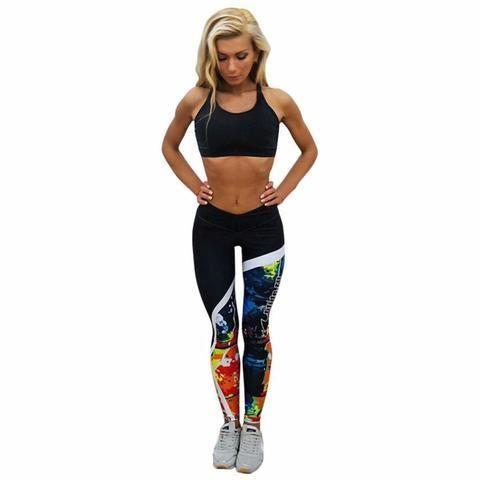 Women's Printed Yoga Pants/Leggings/Gym/Running Pants | @giftryapp