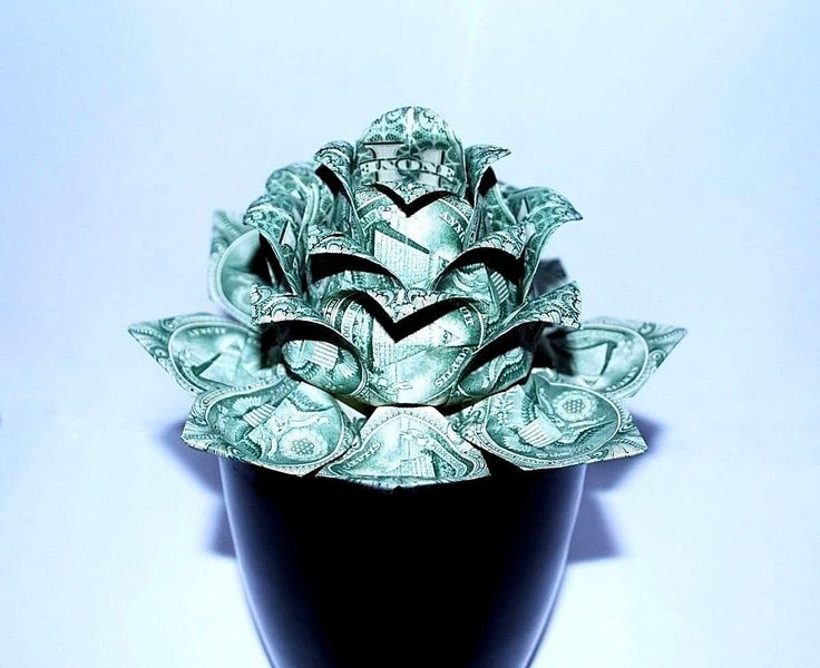 money flower – origami lotus – money lotus – dollar bill flower – lotus flower – water lily – graduation Gift – Christmas – holiday