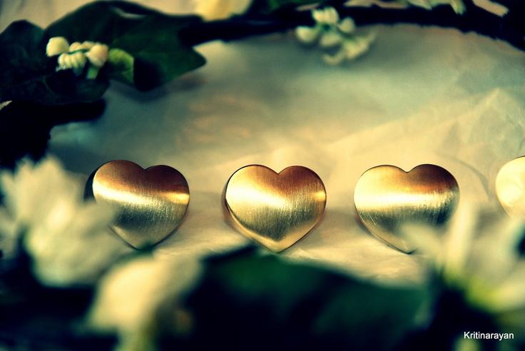 heart shape rings