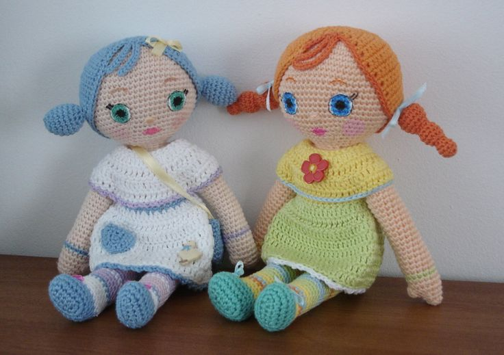 This week we have got new treat for all doll lovers. Girls will love this one. Moms and grandmothers as well as it is easy and fast project to do and doll is not a small one and has no tiny pieces …