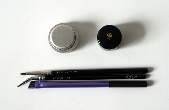 Lancôme and Maybelline Gel Eyeliner!