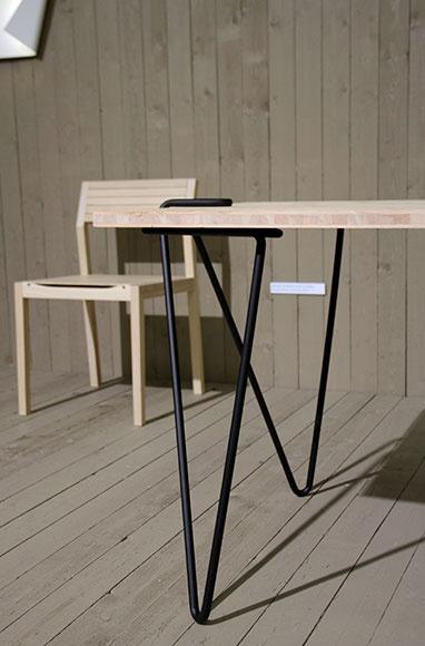 From Koti kolmelle -blog: Linie58 Table legs