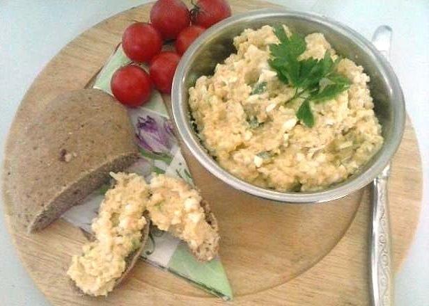 Pomazánka zo pšena s vajíčkom, Zdravé recepty, Nátierky, recept | Naničmama.sk