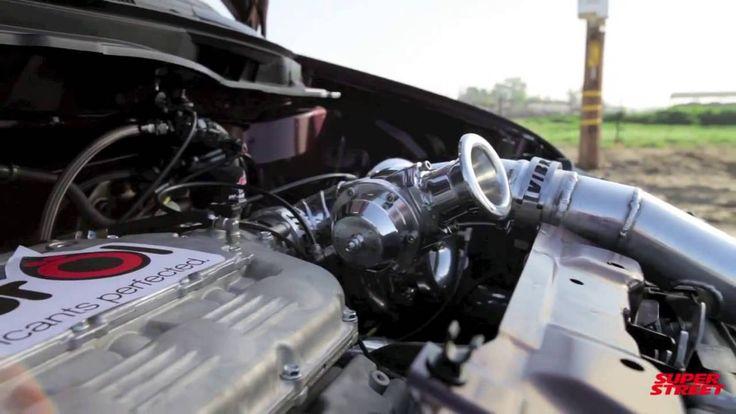 1000+hp Bisimoto Honda Odyssey Van Burnout video