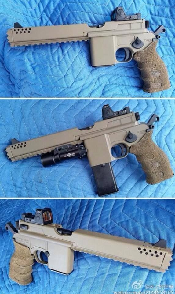 This picture has been going around social media over the weekend. Some think it is airsoft. Who cares? It looks very interesting and i commend the person or persons involved with making this conversion. I like the blending of the modern with a classic. Here are some more pics. Han Solo can eat his heart …   Read More …