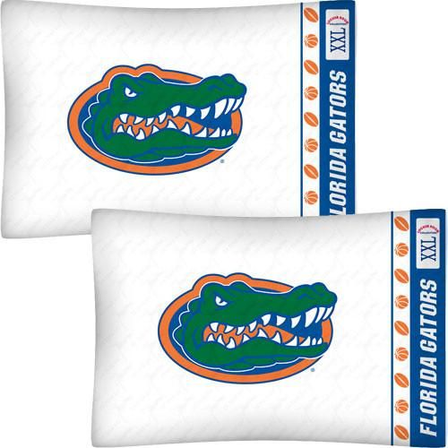 NCAA Florida Gators Football Set of Two Pillowcases