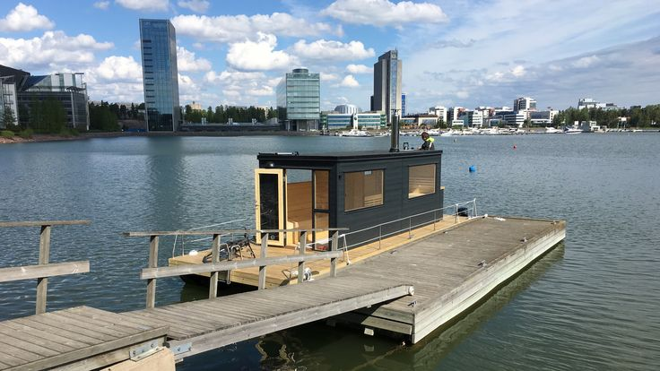 Finnish floating sauna