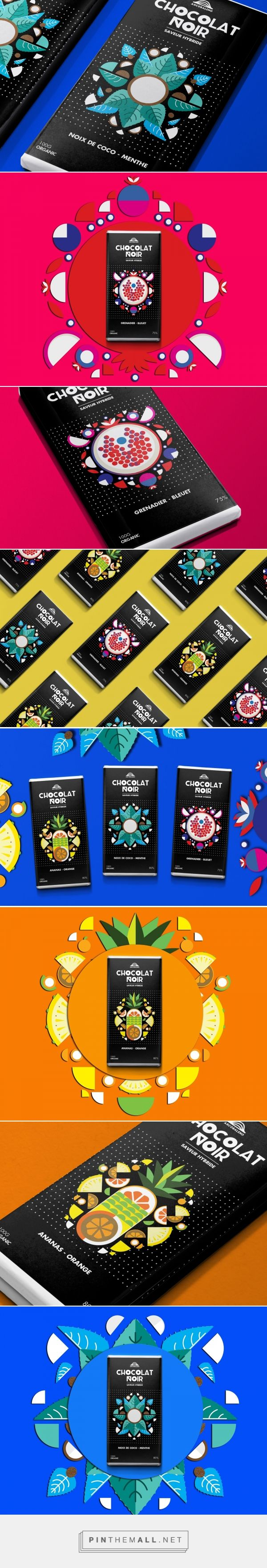 Arcobaleno Chocolate packaging design concept by Dang Vo - http://www.packagingoftheworld.com/2017/02/arcobaleno-chocolate-student-project.html