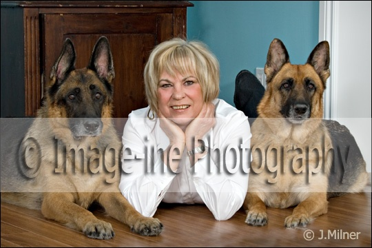 I think we are at our most 'natural selves' when we are with our pets.  They are the members of our family that we choose and cherish.  As a photographer I have found the most camera shy individuals become easily relaxed and themselves when they are having their photograph taken with their pets.