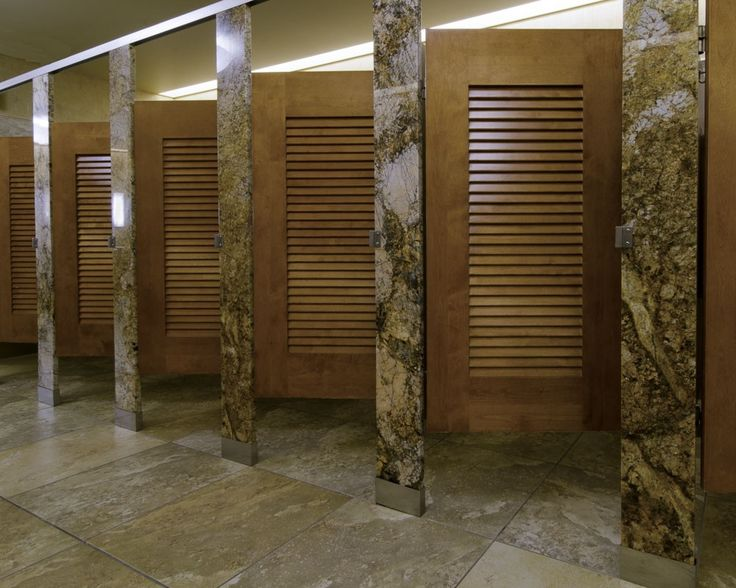 Ironwood Manufacturing Stone Restroom Parion