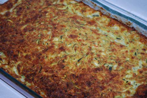 Zucchini Quajado (Zucchini & Cheese Bake) for Passover