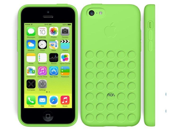 Apple iPhone 5C in Green Case