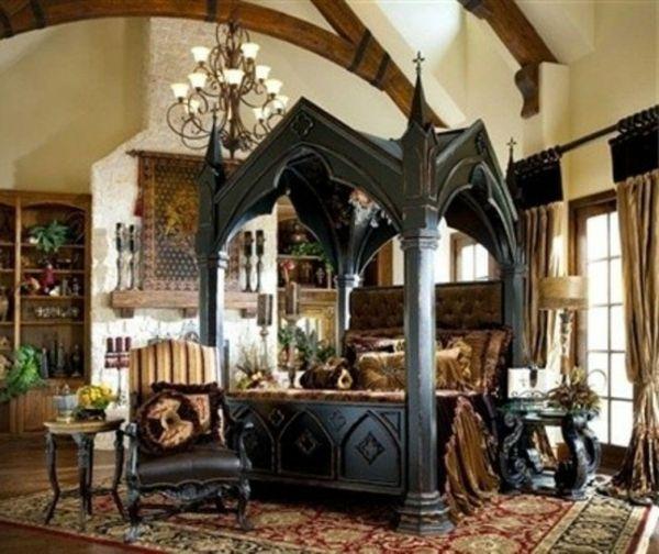 17 meilleures id es propos de chambre gothique sur for Recherche chambre a coucher adulte