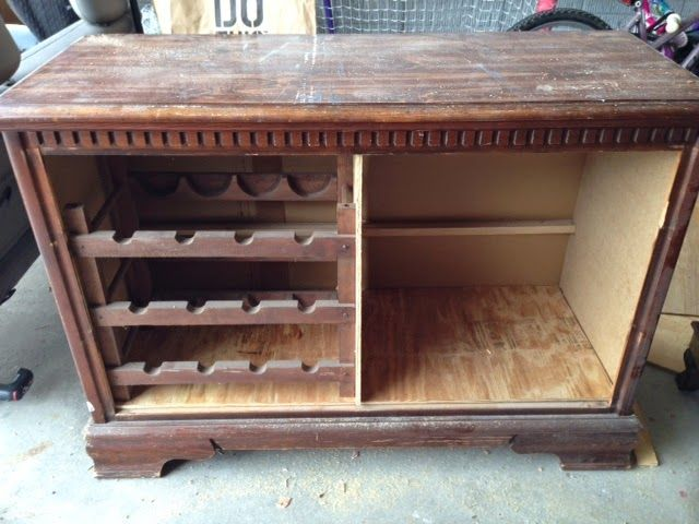 Thrifty Treasures: How to turn a dresser into a wine buffet