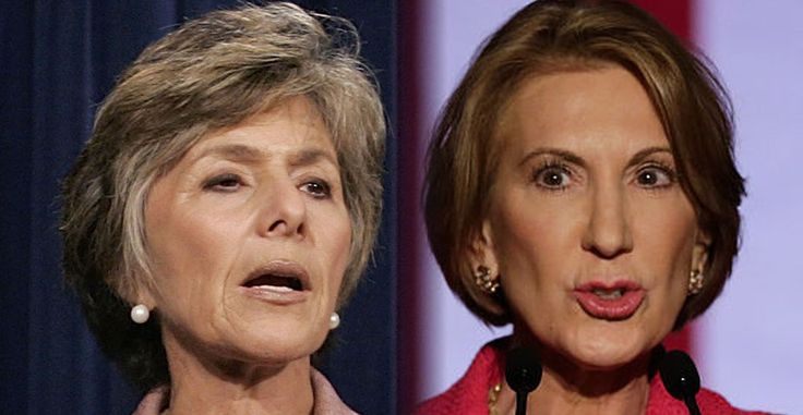 Senator Barbara Boxer (D-CA) unleashed a blistering attack on Fiorina for being Ted Cruz&…