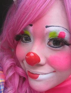 115 best images about clown make up ideas on pinterest