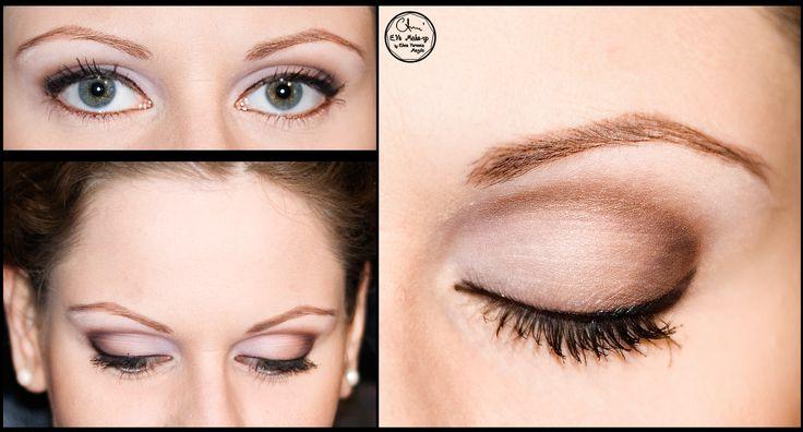 Bridal make-up for green eyes