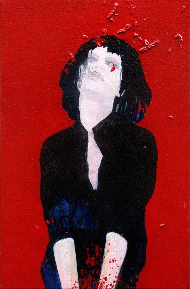 "Saatchi Art Artist Ewa Zwarycz; Painting, ""Untitle"" #art"