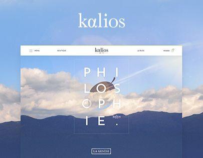 """다음 @Behance 프로젝트 확인: """"Kalios   WEBSITE E-SHOP"""" https://www.behance.net/gallery/38750715/Kalios-WEBSITE-E-SHOP"""