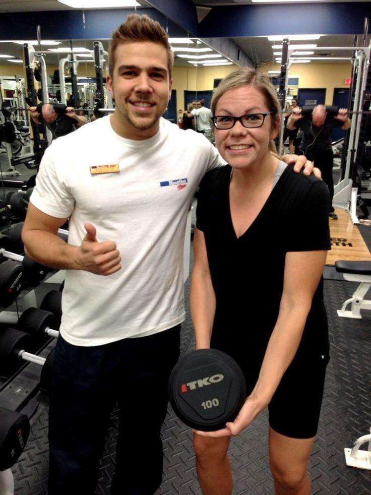 """""""La 499e journée d'entraînement de Lindsey a marqué sa perte de poids de 100lbs!"""" -Félix-Antoine (Hull)"""
